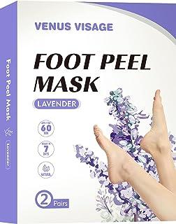 Foot Peel Mask 2 Pack, Peeling Away Calluses and Dead Skin cells, Make Your Feet Baby Soft, Exfoliating Foot Mask, Repair ...