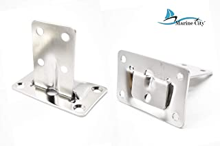 Marine City Stainless-Steel Removable Table Bracket Set of 4