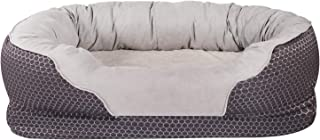 AsFrost Dog Bed, Orthopedic Dog Beds with Removable Washable Cover, Memory Foam Pet Bed for Dogs & Cats, Nonslip Bottom Pet Beds for Sleep