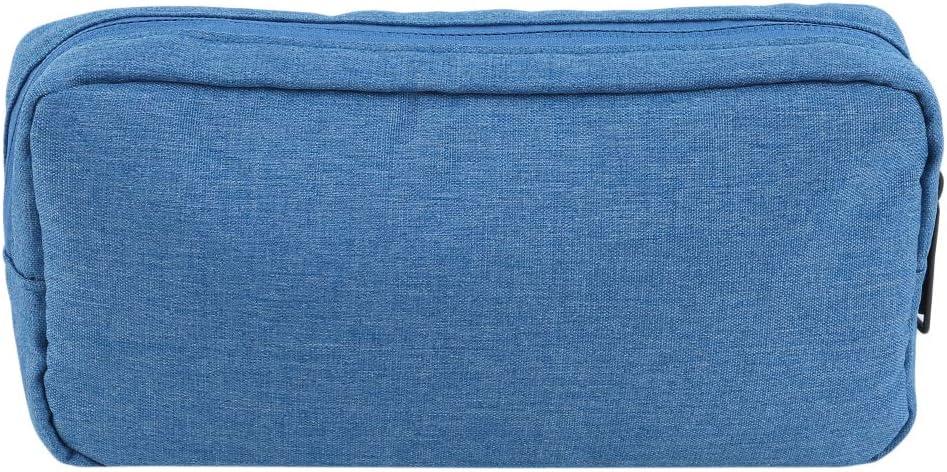 Yeucan Oxford Cloth Kabel Organizer Tasche Zubeh/ör Tragetasche Universal Travel wasserdichte tragbare Digitale Aufbewahrungstasche Gro/ßformat dunkelgrau