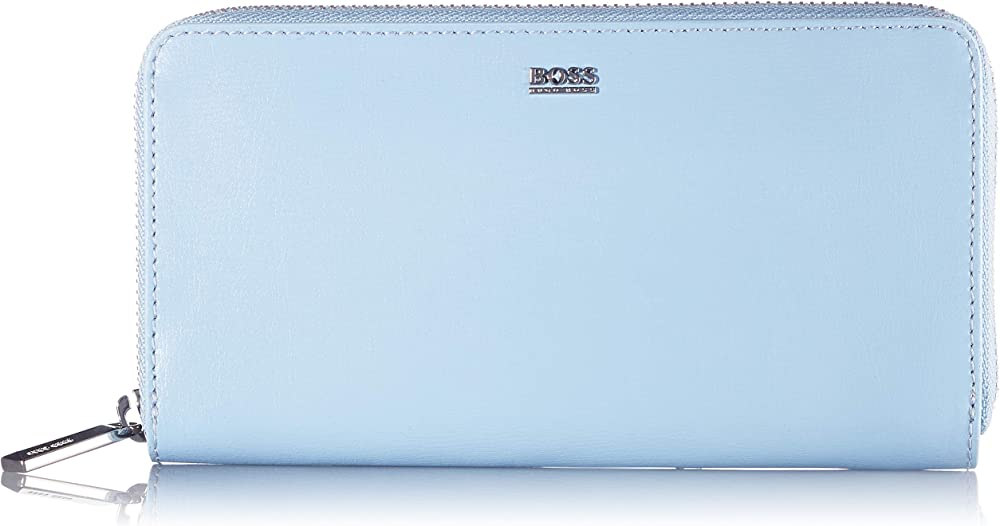 Hugo boss nathalie portafoglio porta carte di credito da donna in pelle sintetica 50441921B