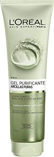 LOreal Paris Dermo Expertise - Arcillas puras gel limpiador purificante color verde - 150 ml