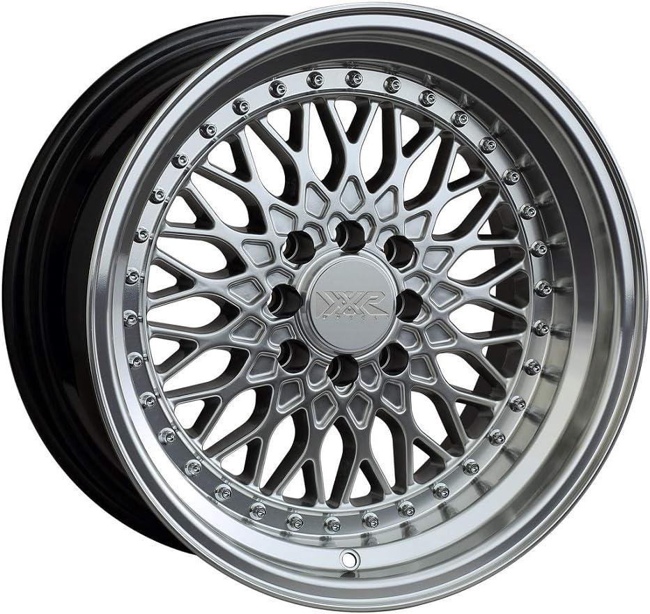 XXR WHEELS 536 Rim 17X9 5X100 Machined ET25 Hyper 5X114.3 5 ☆ very popular Silver Spasm price
