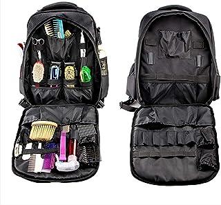 WOERD Sac à dos de coiffeur portable étanche pour tondeuse et fournitures pour homme/femme, multifonctionnel, étui de voya...