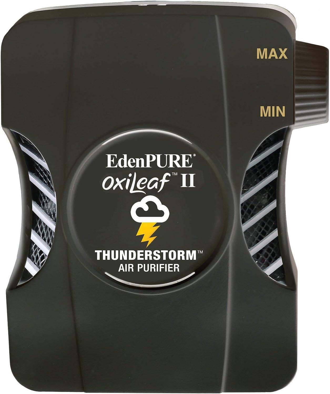 Max 65% OFF Edenpure OxiLeaf II Thunderstorm Air Odor Purifier Dedication Rem Sanitizer