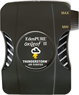 Edenpure OxiLeaf II Thunderstorm Air Purifier Sanitizer Odor Remover with Portable USB Travel Plug