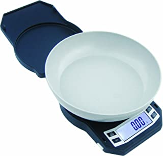 Precision Digital Kitchen Weight Scale, Food Measuring Scale, 500g x 0.01g (Black), LB-501