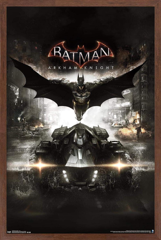 Trends International DC Comics Video - Columbus Mall Key Arkham Knight Max 78% OFF Game