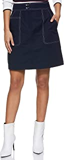 Tommy Hilfiger Marisa A-Line Skirt for Women - Midnight, Size A Line (Blue)