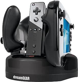 dreamGEAR Nintendo Wii U Quad Dock Revolution Charger
