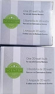 Scentsy Two Pack 20 watt Bulbs