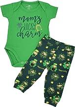 Unique Baby Boys 1st St Patricks Day Moms Lucky Charm Layette Set