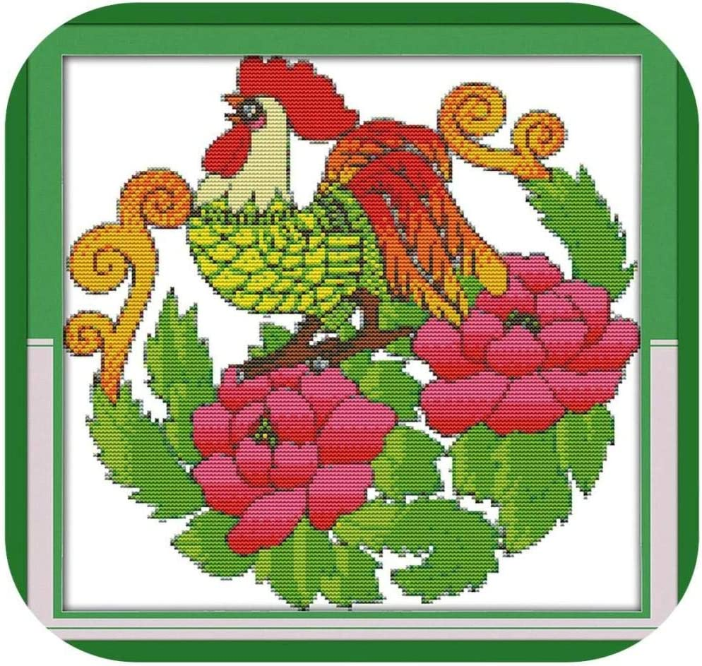Stamped Cross Stitch Kits Beginners Lucky Detroit Mall Wholesale Embroidery A Adult for