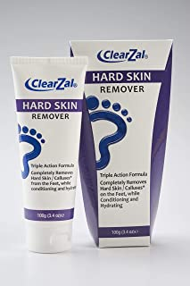 ClearZal Foot Cream for Hard Skin, Helps Calluses and Corn Removal While Leaving Soft Smooth Skin. Hydrating and Condition...