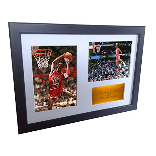 7c6a83dcd19ad2 A4 Signed Michael Jordan Chicago Bulls
