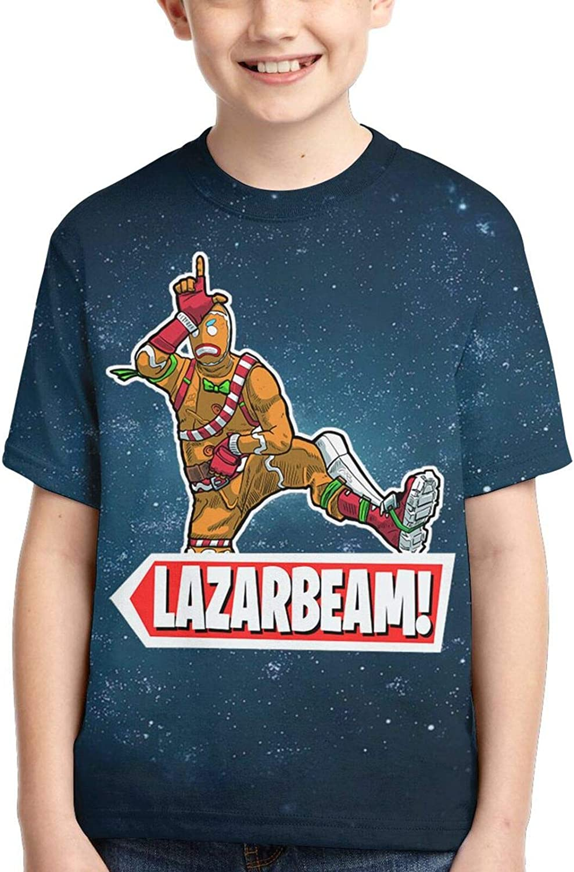 Lazar-Beam Boys T-Shirt Kids Crewneck Short Sleeve Youth Shirt Teen Tee Tops Child