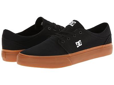 DC Trase TX (Black/Gum) Skate Shoes