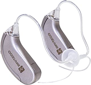 Britzgo Premium Hearing Amplifiers with Digital Noise Cancelling - 2 Pack BHA-702S - 1 Year Warranty!