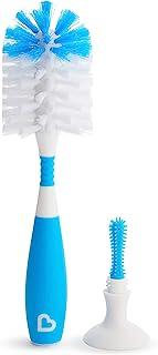 Munchkin Bristle Bottle Brush, Blue
