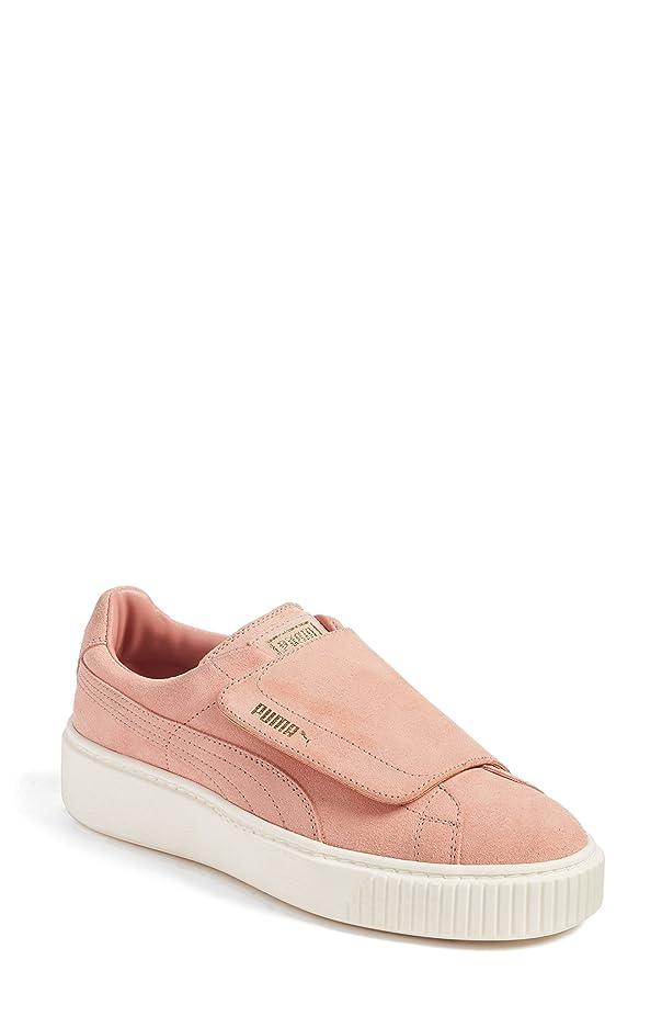 救援英語の授業があります必要とするプーマ シューズ スニーカー PUMA Basket Platform Sneaker (Women) Brown/ Bro [並行輸入品]
