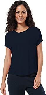 BUBBLELIME Workout Shirts for Women Modal Batwing Long/Short Sleeve Yoga Tops Activewear Super Soft