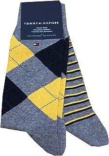 Mens Argyle Logo Dress Trouser Socks 2 Pairs