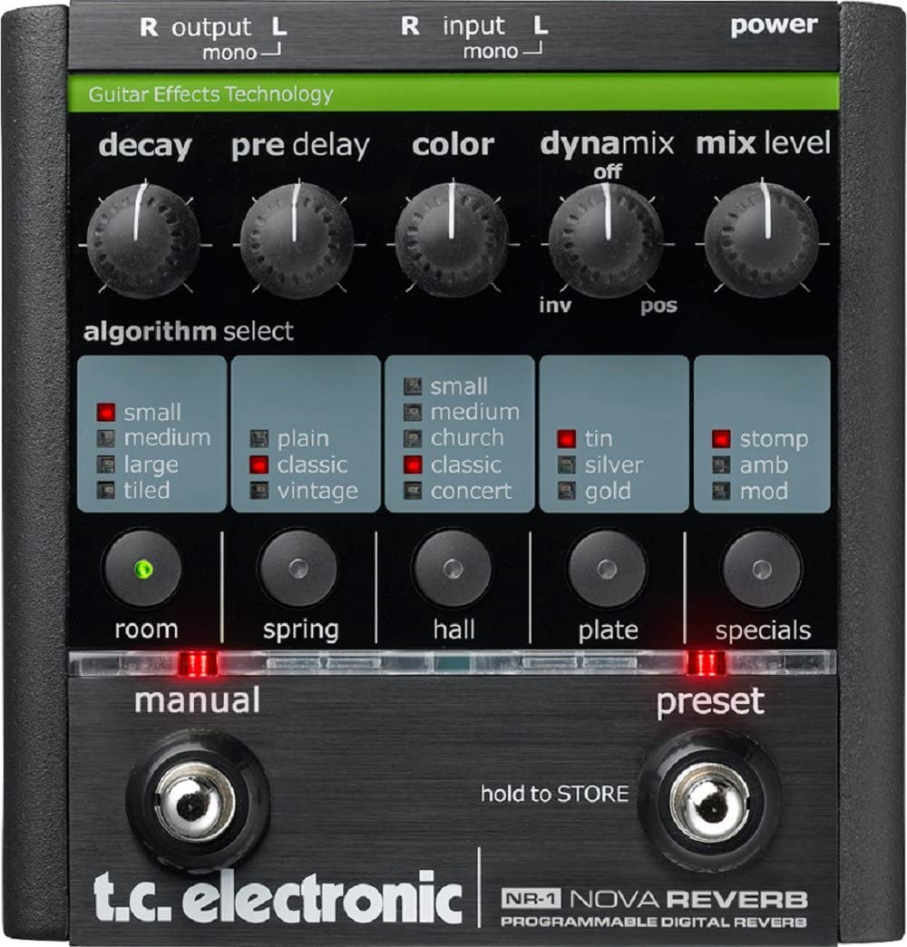 TC Electronic NR-1 Nova Reverb Guitar 高価値 Pedal 推奨
