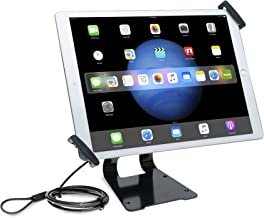 Tablet Stand, CTA Digital Adjustable Anti-Theft Security Grip & POS Stand for 9.7-13