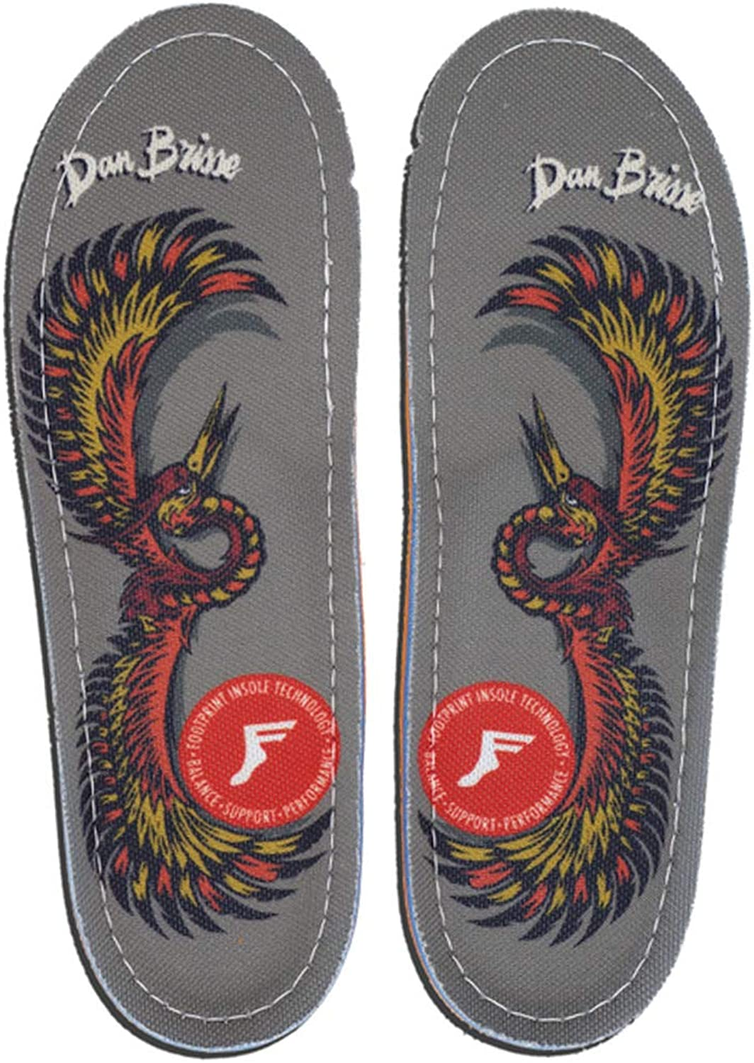Footprint KF Orthotic Pro Push Scooter Insoles Dan Brisse Falcon