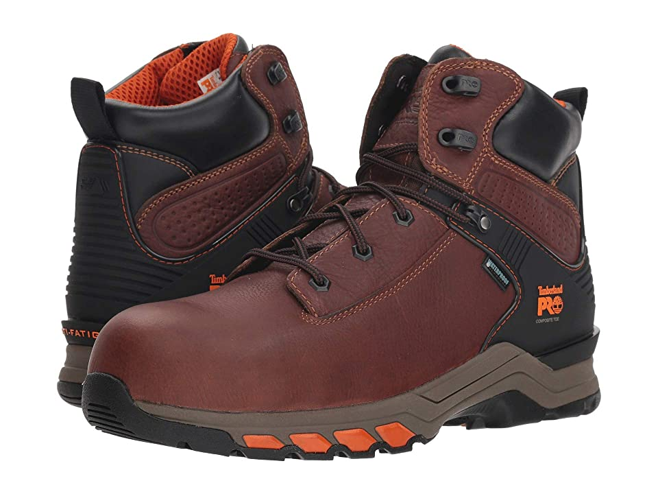 Timberland PRO Hypercharge 6 Safety Toe WP (Brown) Men