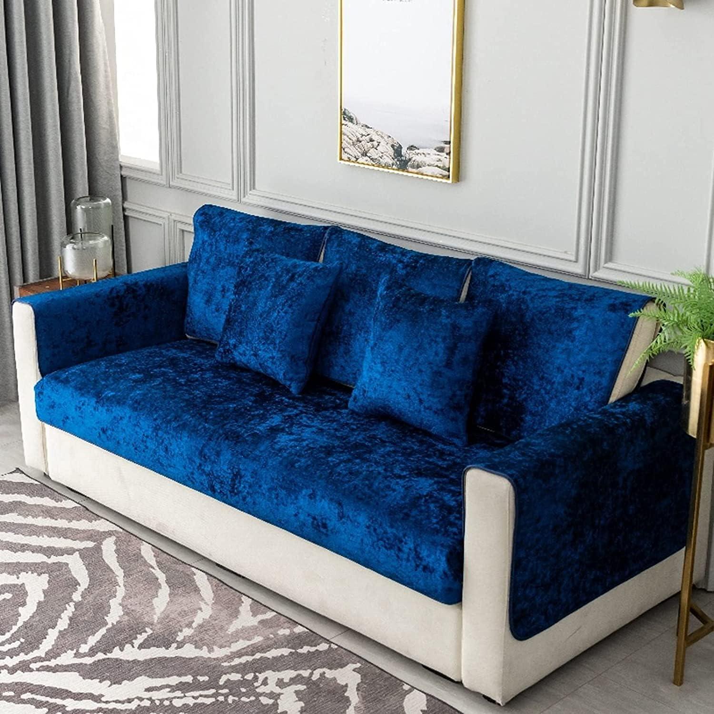 Albuquerque Mall ZYZCJT 100% Waterproof Jacquard Sofa Slipcover Max 79% OFF Suede