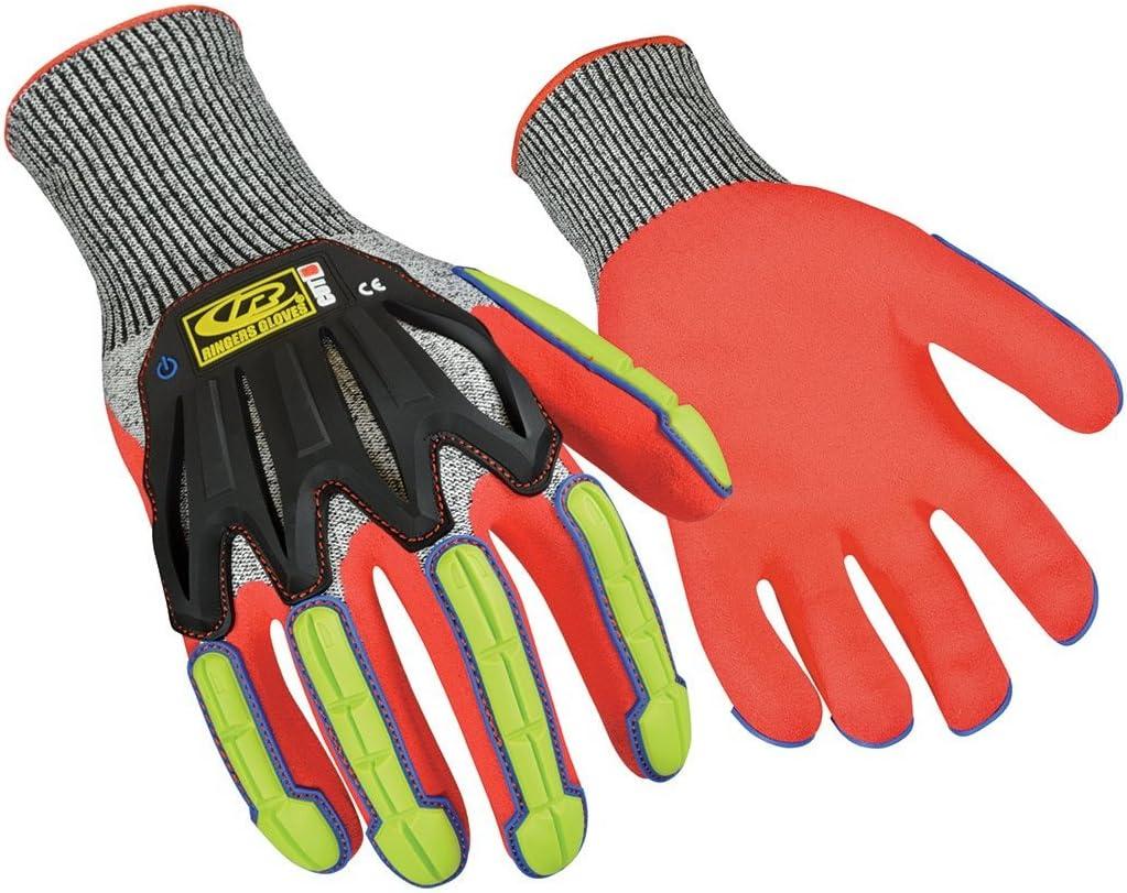 Ringers Gloves 065 R-Flex Impact Light - Duty Kansas Max 81% OFF City Mall Glo Nitrile