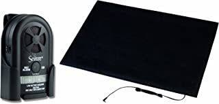 Secure MAT-3 Floor Mat Patient Alarm Set - 24 inch x 36 inch Alarming Floor Mat for Fall and Wandering Prevention - Batteries Included