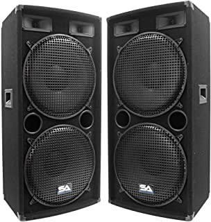 pro studio speakers 15 inch