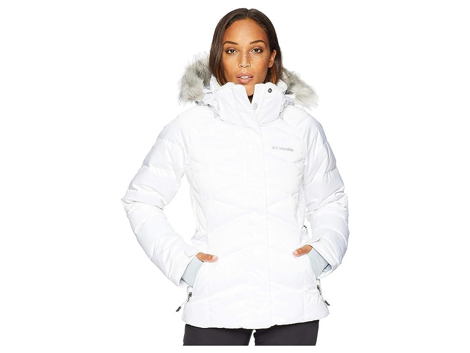 Columbia Lay D Downtm II Jacket (White Satin) Women