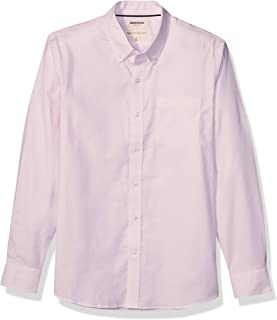 Goodthreads Standard-Fit Long-Sleeve Stretch Oxford Shirt (all Hours) Uomo