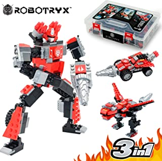 Robot STEM Toy   3 In 1 Fun Creative Set   Construction Building Toys For Boys and Girls Ages 6-14 Years Old   Best Toy Gift For Kids   Free Poster Kit