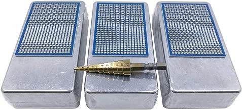 3 pcs 1590B Enclosure Box incl. step drill, pcb for electronic prototype DIY guitar pedal