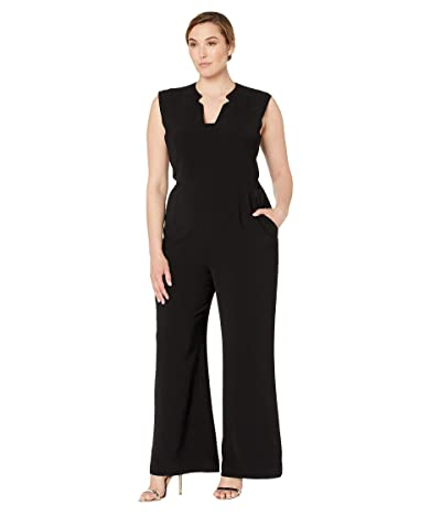 Tahari by ASL Jumpsuit with Pockets (Black) Women
