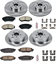 Autospecialty (KOE6083) Daily Driver OE Brake Kit, Front and Rear