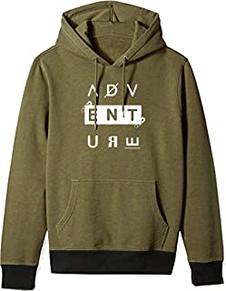 BAGHADBILLO Adventure Printed Unisex Cotton Hoodies Sweatshirt for Men and Women