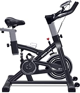 IDEER LIFE Exercise Bike Stationary Indoor Cycling Bike, Heavy Duty Exercize..
