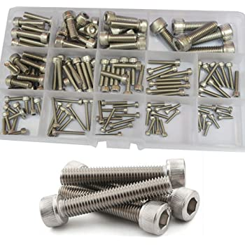 10-Pack The Hillman Group 4405 M6-1.00 x 12mm Metric Stainless Steel Socket Cap Screw