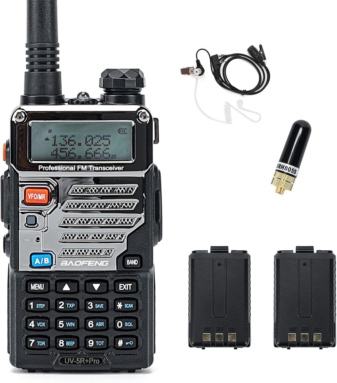 BaoFeng UV-5R Pro Dual Band Two Max 54% OFF with Way Ba Radio Arlington Mall Li-ion 2800mAh