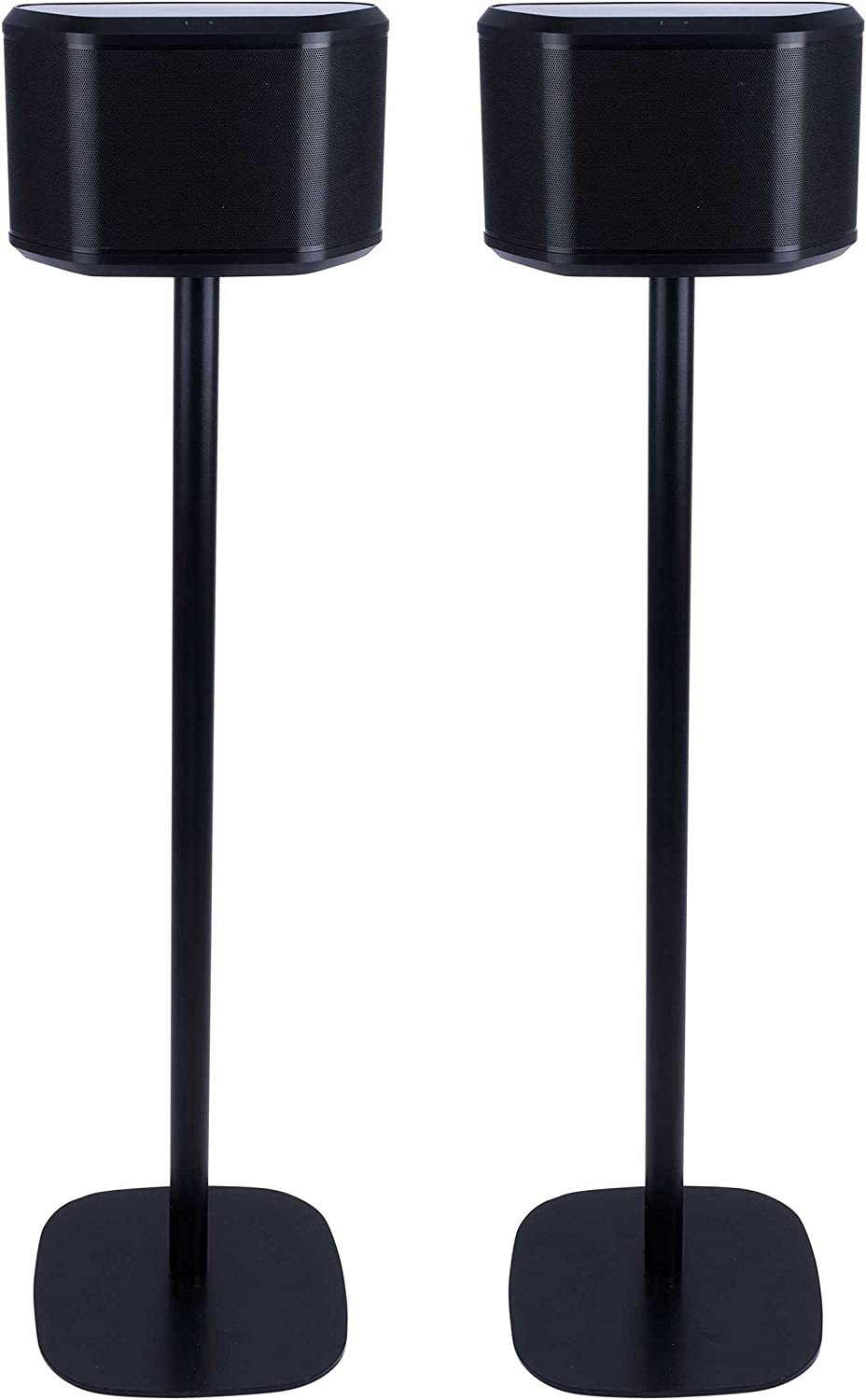 Vebos Floor Stand Yamaha WX-030 Musiccast Black Set en Optimal Experience in Every Room - Allows You to Place Your Yamaha WX-030 Musiccast Exactly Where You Want it - Two Years Warranty