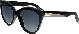 Givenchy GV 7009 QOL Black Plastic Cat-Eye Sunglasses