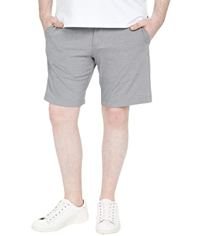 Johnston & Murphy XC4 Performance Heather Shorts (Gray) Men