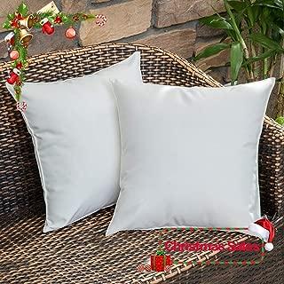 white outdoor throw pillows