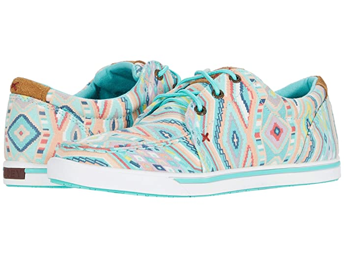 Twisted X  WHYC010 (Light Blue/Multi) Womens Shoes