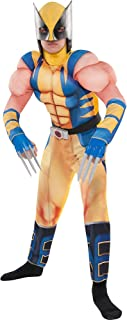 Wolverine Muscle Costume for Boys, Includes a Padded Jumpsuit, a Mask and Plastic Claws
